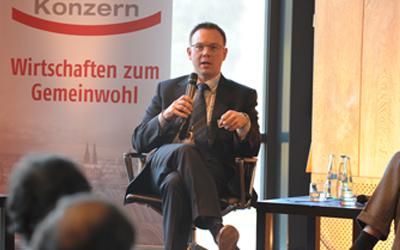 Martin Börschel bei einer Fachtagung der Kölner Stadtwerke anlässlich des 50. Jubiläums