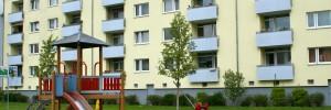 Modernisierter Wohnungsbau (Foto: Risse)