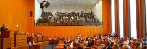 Blick in den Ratssaal der Stadt Köln