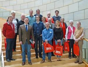 Besuchergruppe aus Mülheim